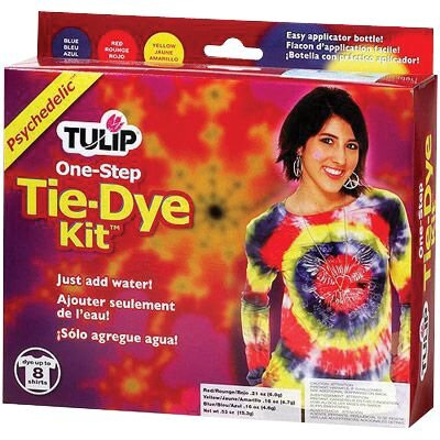 Tulip One Step Dyes Psychedelic Tie Kit D24251