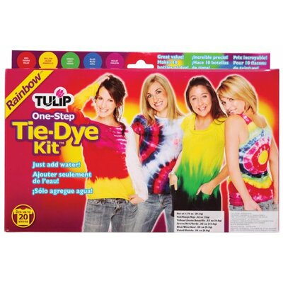 Tulip One Step Dyes Rainbow Tie Kit D26504