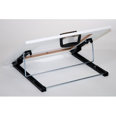 Pro Draft Aluminum Adjustable Angle Parallel Edge Drafting Board Size: 18