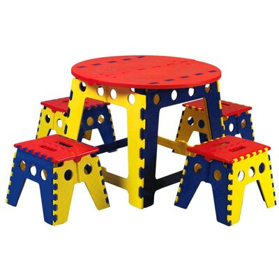 Martin Universal Design Legacy Kids 5 Piece Table and Chair Set at Sears.com