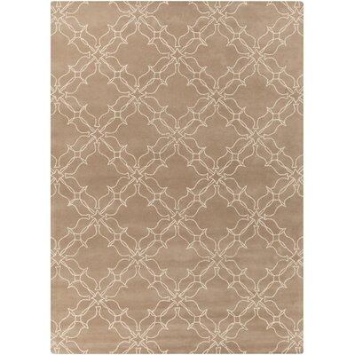 Aimee Wilder Beige Area Rug Rug Size: Rectangle 2 x 3