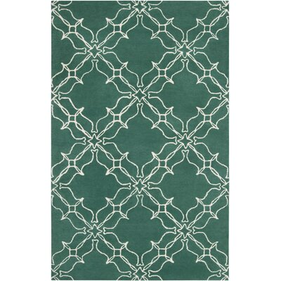 Aimee Wilder Lagoon Area Rug Rug Size: Rectangle 2 x 3