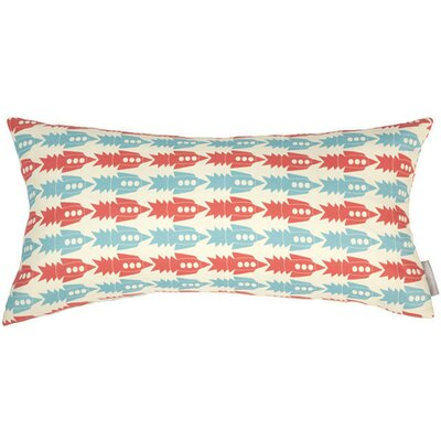 Rockets Bolster Pillow Color: French, Fill Type: Feather Down