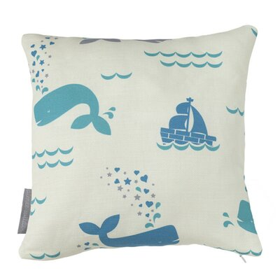 Whalentine Juno Throw Pillow Fill Type: Fiber Fill