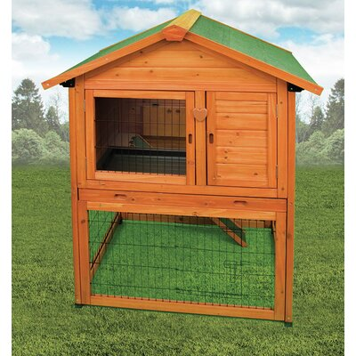 Premium Bunny Barn Rabbit Hutch