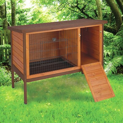 Premium Rabbit Hutch Color: Tan