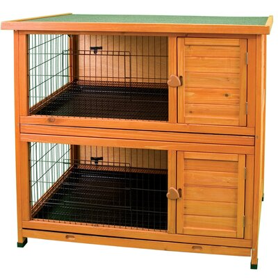 Premium Double Decker Rabbit Hutch