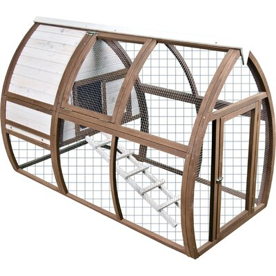 Backyard Chicken Coop/House Open Air Hutch