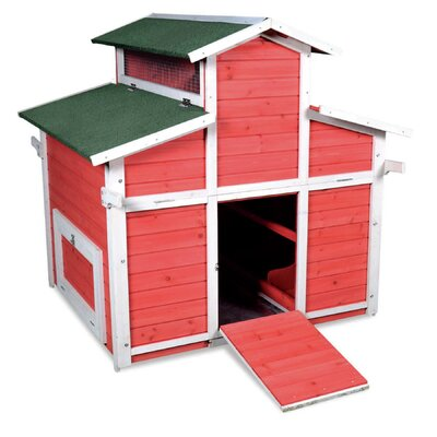 Little Hen Big Chicken Coop