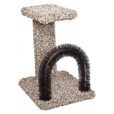 Brush-N-Perch Scratching Post 12894