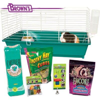Home Sweet FM Browns Guinea Pig Starter Kit