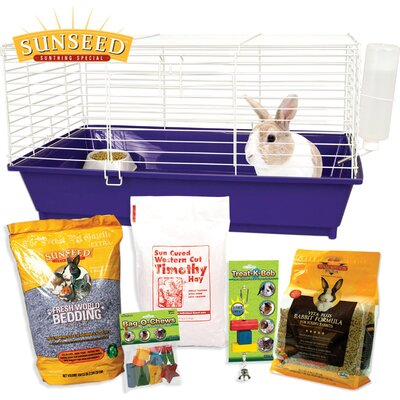Home Sweet Sunseed Rabbit Starter Kit
