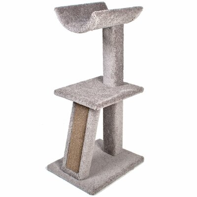 40.25 Kitty Cradle Cat Perch Color: Grey