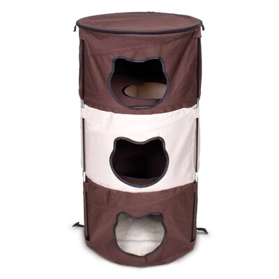 37 Pop-Up 3 Level Kitty Cat Condo