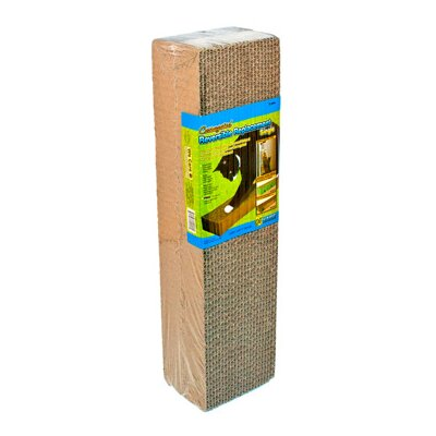 Corrugated Replacement Scratching Board Size: Single (1.75 H x 17.25 W x 4.5 D)