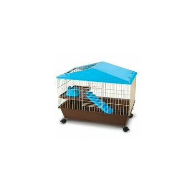 Small Animal House Cage Size: 23.5 H x 28.5 W x 17.25 D