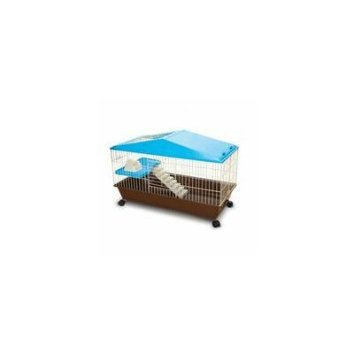 Small Animal House Cage Size: 23.5 H x 35.5 W x 17.25 D