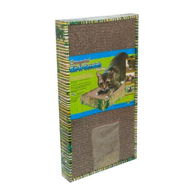 Sit-N-Scratch Scratching Board Size: Double (8.25 H x 2 W x 10.25 D)