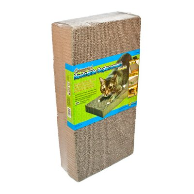 Corrugated Replacement Scratching Board Size: Double (1.25 H x 17.75 W x 10 D)