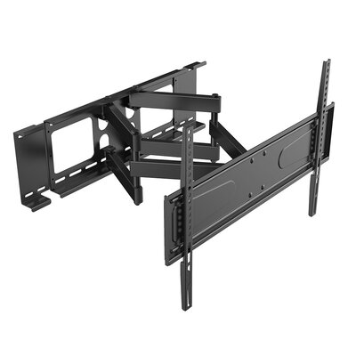 Manual Cantilever Double Stud Tilt Wall Mount for 56- 90 Flat Panel Screens