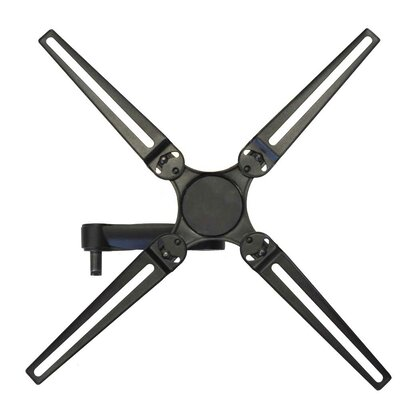 Full Motion Dual Arm Single Stud Tilt Wall Mount for 10- 55 Flat Panel Screens