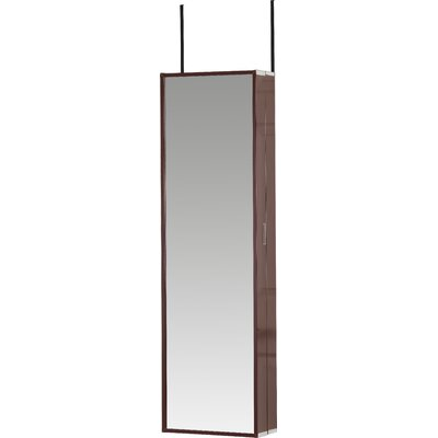 Cosmetic-Beauty (Make Up) & Jewelry Armoire Finish: Cherry