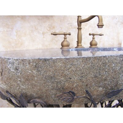Organic Suites Metal 25 Pedestal Bathroom Sink Sink Finish: Brown, Sink Size: 33- 40