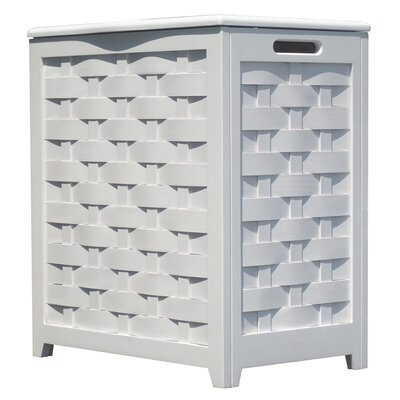 Laundry Hamper Finish: White