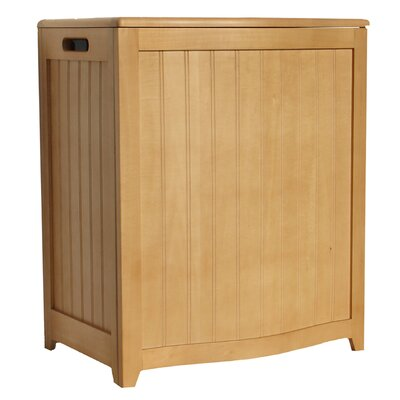 Laundry Hamper Finish: Natural