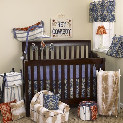 Sidekick 7 Piece Crib Bedding Set image