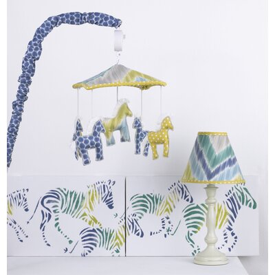 Zebra Romp Decor Kit image