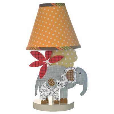 Elephant Brigade Decorator Lamp and Shade