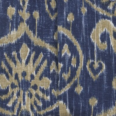 Sidekick Ikat Fabric Color: Blue