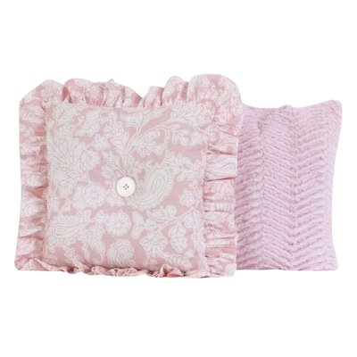 Sweet and Simple 2 Piece Throw Pillow Set