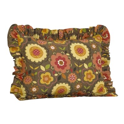 Peggy Sue Ruffled Pillow Sham
