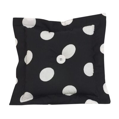 Poppy Dotted Throw Pillow