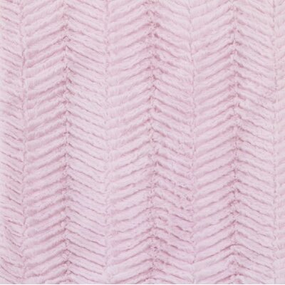 Sweet and Simple Chevron Cuddle Fabric