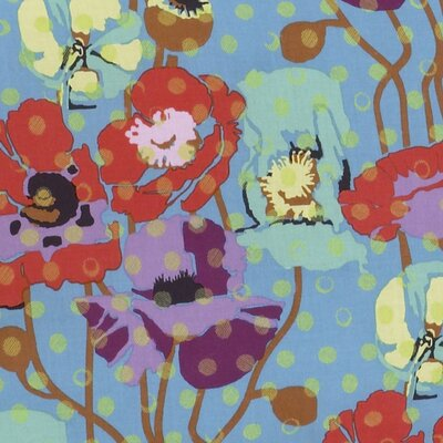 Lagoon Floral Fabric