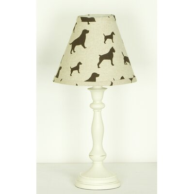 Houndstooth Standard Lamp and Shade
