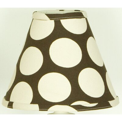 Raspberry Dot 9 Cotton Empire Lamp Shade