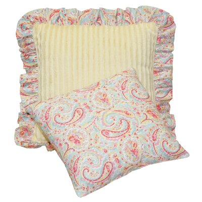 Gustave Paisley Decorative Cotton 2 Piece Throw Pillow Set HBEE6634 41805035