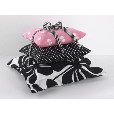 Girly 3 Piece Throw Pillow Set