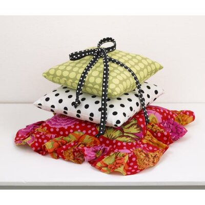Tula 3 Piece Cotton Throw Pillow Set