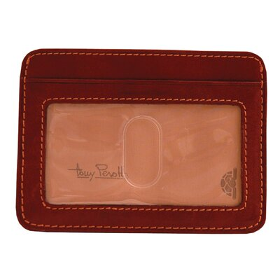 The Green Collection Prima Slim Money Clip Wallet with ID Window