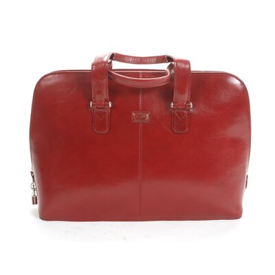 Classic Zip Laptop Bag Color: Red