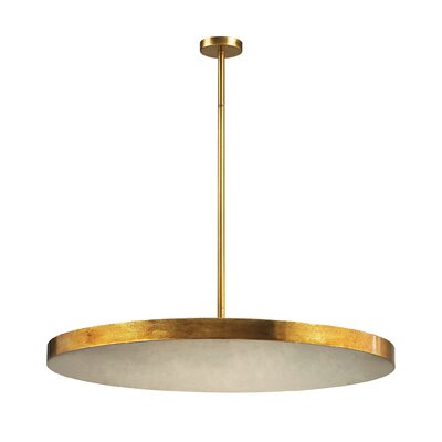 Koepp 4-Light Disc Pendant In Gold Leaf