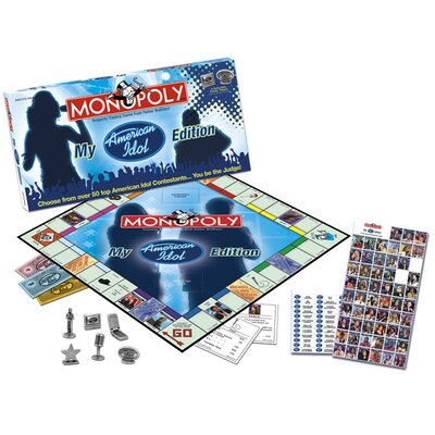 USAopoly My American Idol Collector's Edition Monopoly Game at Sears.com