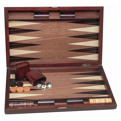 Wood Expressions Backgammon Set with Wood Inlay at Sears.com