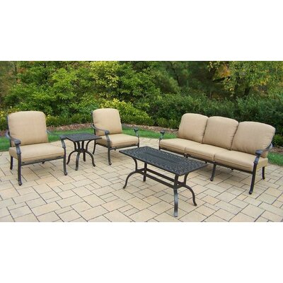 Bosch Traditional 5 Piece Deep Seating Group with Cushions