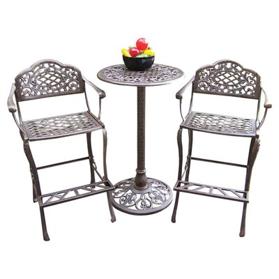 Mississippi 3 Piece Bar Set